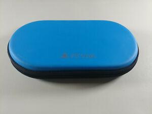 Official PS Vita Fat Slim 1000 2000 Hori Tough Pouch Hard Case Light Blue