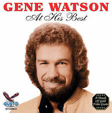 """GENE WATSON, CD """"AT HIS BEST""""  NEW SEALED"""