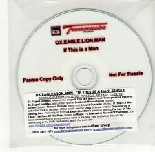 (GO433) Ox Eagle Lion Man, If This Is A Man - DJ CD