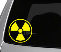 Nuclear Radiation Symbol Car Laptop Bumper Window Vinyl Decal Sticker 10234
