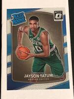 2017-18 Donruss Optic Rated Rookie #198 Jayson Tatum Boston Celtics RC MINT 🔥