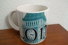 Starbucks London City Coffee Mug Large Made in England 2002 Big Ben Clock Tower