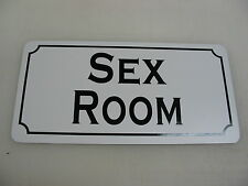 SEX ROOM Sign Metal Dance Club Mens Man Cave Bar Beer Style Adult Novelty Womens