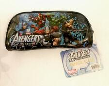 Marvel The Avengers Pencil Holder Pouch Bag Pen School Carrying Case Disney Iron
