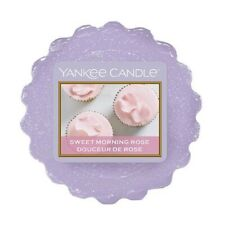 Yankee Candle Wax Melt wax Tarts Lilac Sweet Morning Rose X 24 NEW