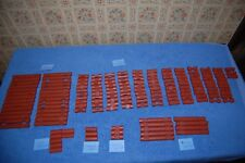 Wood Wooden Lincoln Logs Mixed Lot of Pieces Collectible Wooden Building Toys