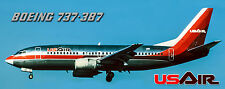 USAir Airlines Boeing 737 Photo Magnet (PMT1557)