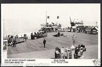 Isle of Wight Postcard - Old Ryde - Pier Head c.1909 - Pamlin Print MB2624