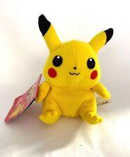"1998 Nintendo Pokémon Plush Toy #25 Pikachu 6"""