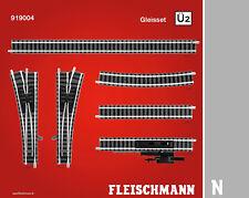 Fleischmann N 919004 Gleisset �œ2, �œberholgleis 2 Neuware