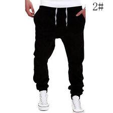 Herren Jogger Chino Hosen Freizeit Sports Jeans Jogginghose Haremshose