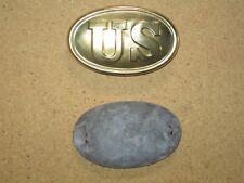 US Civil War cartridgebox plate
