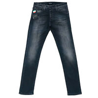 JACK & JONES Homme 'S Glenn Fox Slim Fit Taille Basse Gris Jeans Taille W30