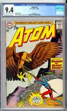 ATOM #5  CGC  9.4 NM   NICE OFF WHITE TO WHITE PAGES!  SHARP BOOK! TAKE A LOOK!