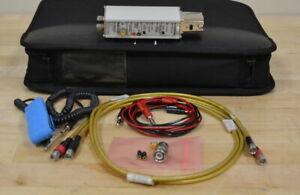 Tektronix P7380-SMA Differential Probe, 8GHz SMA, TekConnect w/Accessories GOOD
