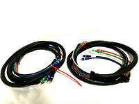 Lot of 2 Calrad-Vec HDTVHARN 75 OHM Coaxial 12 Feet Each Heavy Duty Cable