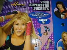 Hannah montana set with Rockin CD NEW Ideal for 8+ years