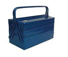Trusco Steel Tool Box with 3 Cantilever Tray 472x220x343mm GT-470-B  Japan