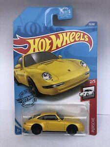 2020 Hot Wheels '96 Porsche Carrera #72/250 [Yellow] Porsche Series