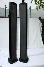 2 X Tannoy Arena Highline 500 L Speaker Tower Black Pair Speakers