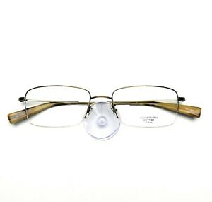 Oliver Peoples Eyeglasses Half Rimless 669 Titanium New Authentic 53-18-145