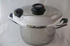 AMC Ensemble des casseroles 6,5 Litre 24 cm Secuquick Staline Pots De Cuisine