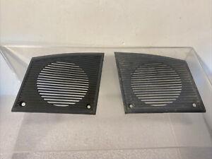 OEM Chevrolet Front Dash Speaker Cover Grill Pair Left & Right  1978 - 1988