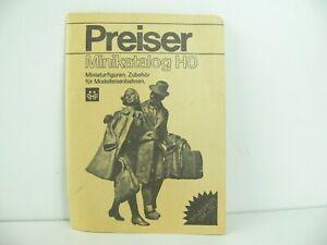 Preiser Minikatalog HO aus 1975 ? Selten Vintage ALT
