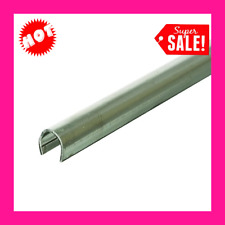 Door Track Repair Cap 4ft 2pcs Replacement Sliding Glass Door Stainless Steel!