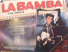 Richie Valens LA BAMBA(1987) Original UK quad movie poster