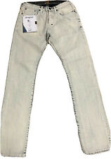 PRPS GOODS~ COATED DENIM JEANS~ BUTTON FLY~ MENS SIZE 32 x 34 ~ NEW