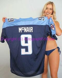 Steve McNair Tennessee Titans authentic Reebok GAME MODEL navy blue jersey NEW