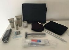 BA First Class Mens Navy Liberty Washbag/Amenity Kit, Complete with Contents