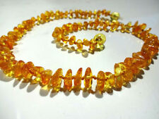 Amber Strand/String Fine Necklaces & Pendants