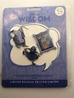 Disney Limited Release Wisdom 3 Pin Set The Sword In The Stone Merlin Mim Quote