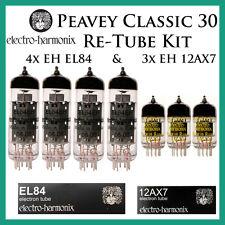 Peavey Classic 30   Electro-Harmonix Upgrade / Retube Kit / Tube Complement   EH