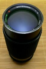 Tokina rmc 80-200mm f4, 0 en Nikon AI nº. 7648