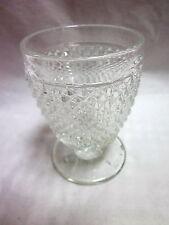 EAPG 4 OZ English Hobnail Pattern Juice/Wine Glass