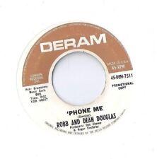 ROBB & DEAN DOUGLAS Phone Me 45 RECORD RARE KILLER MOD SOUL DERAM DJ PROMO