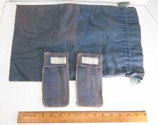 Vintage John Wanamaker Silversmiths Sterling Silver Tarnish Cloth Storage Bags