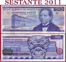 MEXICO MESSICO -  50 PESOS 1978 - Particular number 9959999 -  P 65c - FDS / UNC