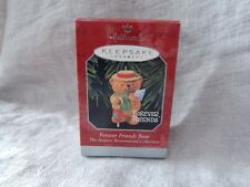 "Hallmark Collectible Ornament ""Forever Friends Bear"" 1998 Andrew Brownsword"
