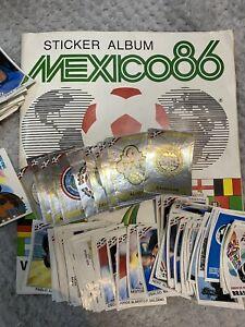 Panini Mexico 86 - Ex Album Stickers 30p Each Badges £1