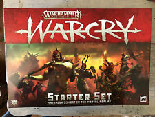 WarCry Age of Sigmar Lot Including 2019 Starter Box Warhammer