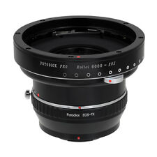Fotodiox Pro ComboLens Adapter Rollei 6000 (Rolleiflex) Lens to Fujifilm X Mount