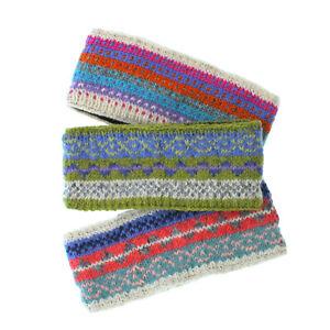 Pachamama Wool Headband Fleece Lined Made in Nepal Choice of Colours