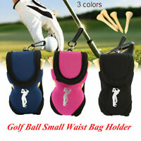 3Color Golf Ball Bag Holder Clip Clamp Holder Putting Organizer Club Ball Marker