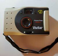 VIVITAR PN2011 35mm Film Camera Panoramic Focus Free Vintage Point and Shoot