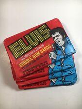 1978 Donruss Elvis Presley Trading Cards - Lot Of 5 Sealed Wax Packs