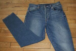 H&M MOM Jeans pour Femme W 34 - L 30 Taille Fr 44 (Réf #O073)